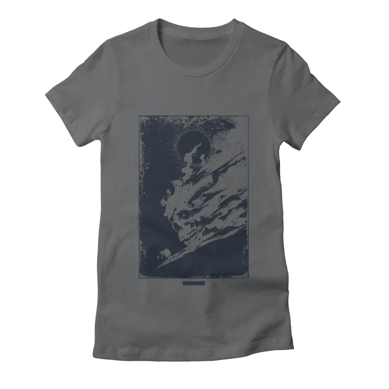 Survival Women's Fitted T-Shirt by Steven Toang