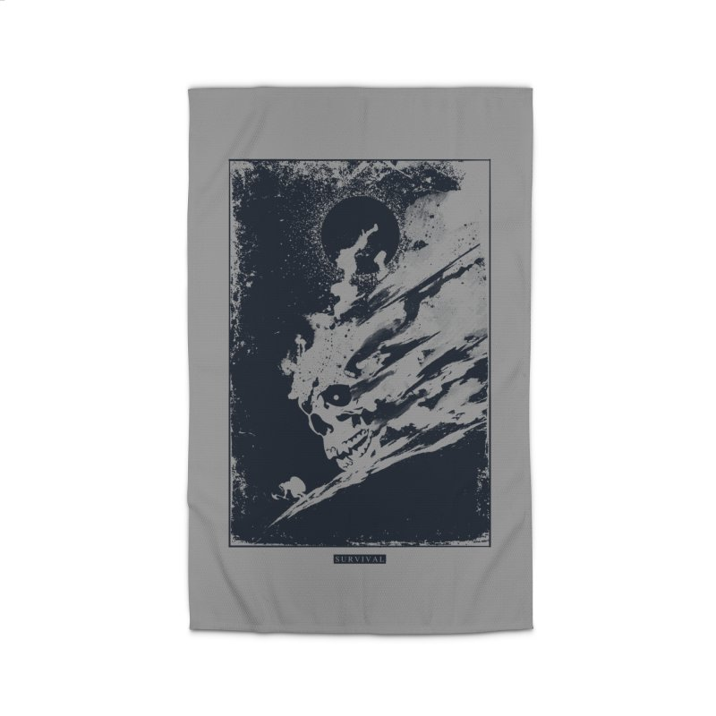 Survival Home Rug by Steven Toang