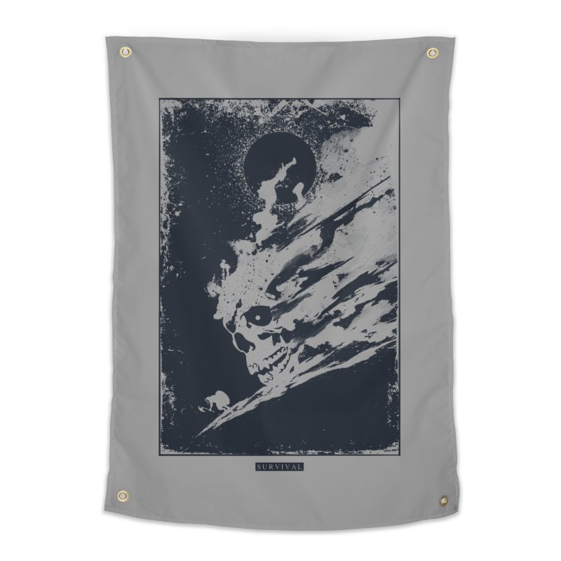 Survival Home Tapestry by Steven Toang