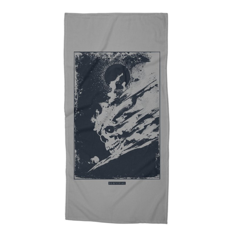 Survival Accessories Beach Towel by Steven Toang