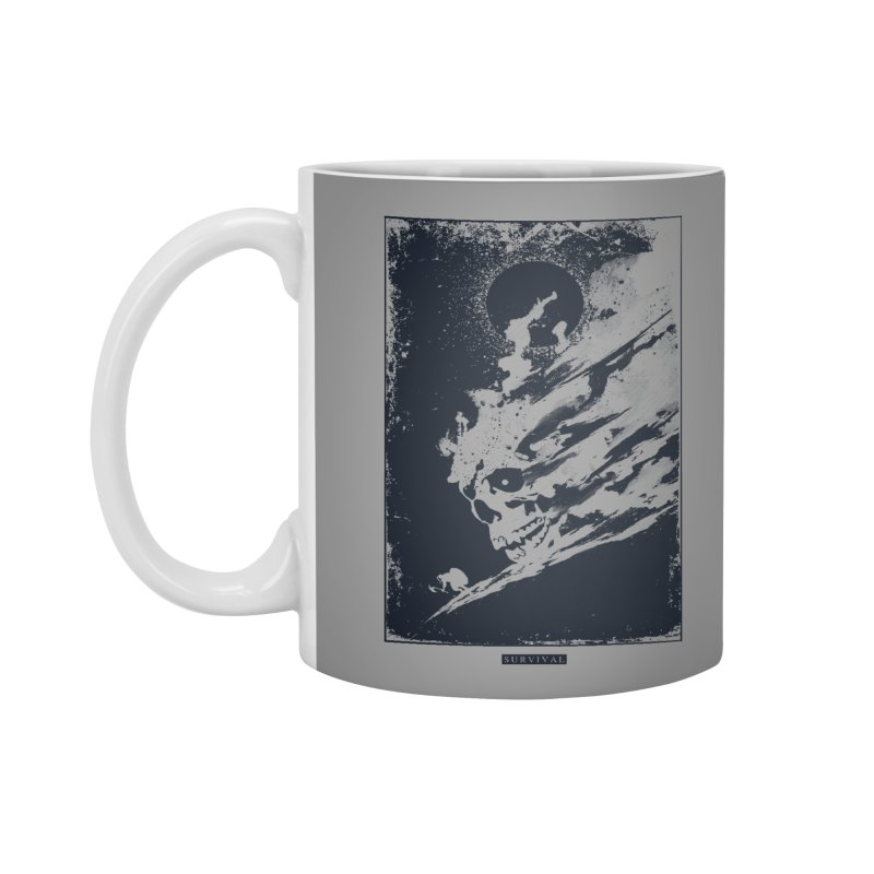 Survival Accessories Mug by Steven Toang