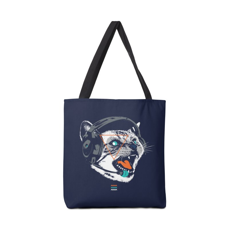 Stereocat Accessories Tote Bag Bag by Steven Toang