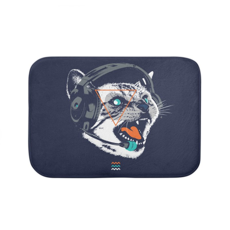 Stereocat Home Bath Mat by Steven Toang