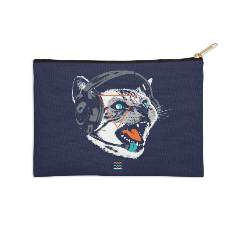 Stereocat Accessories Zip Pouch by Steven Toang