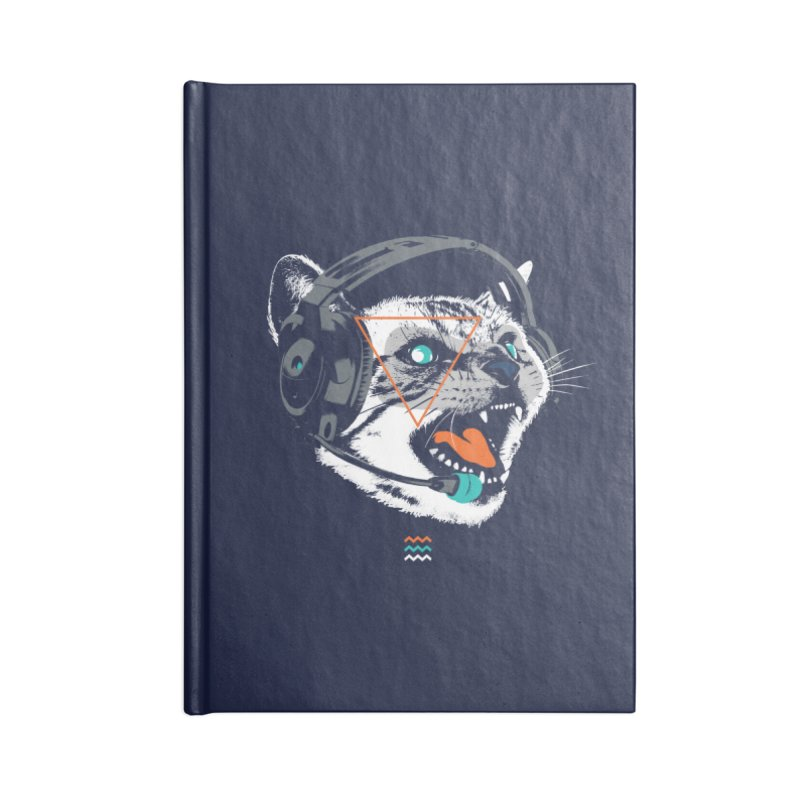 Stereocat Accessories Notebook by Steven Toang