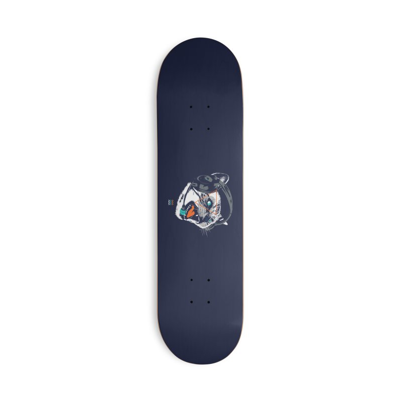 Stereocat Accessories Deck Only Skateboard by Steven Toang