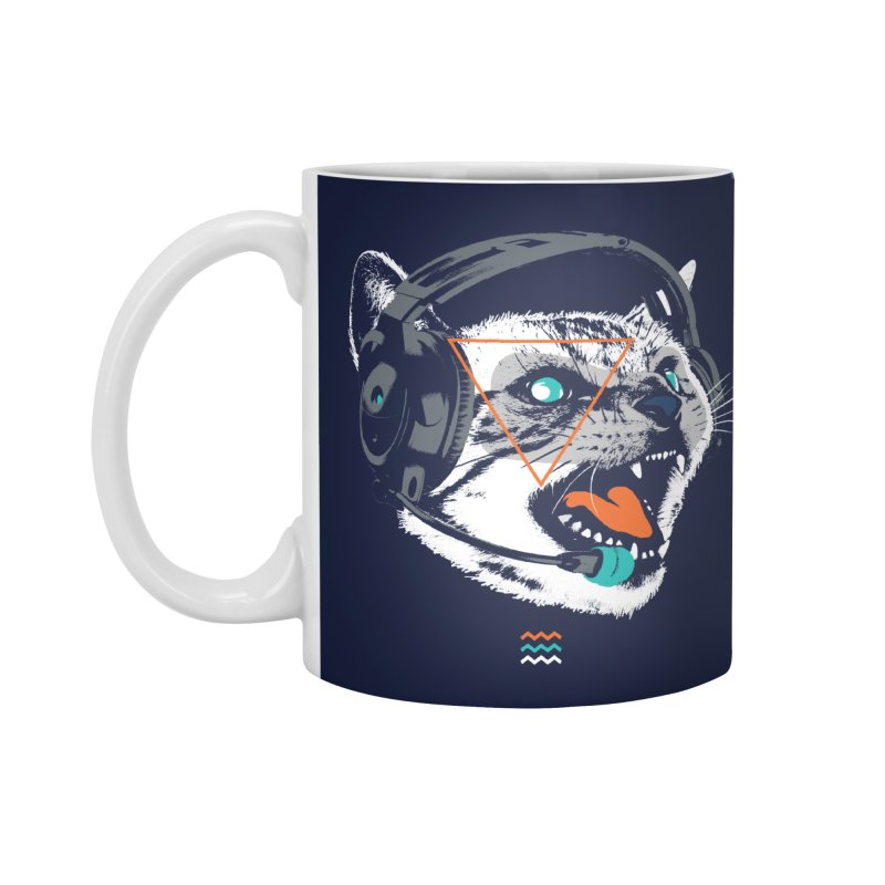 Stereocat Accessories Mug by Steven Toang