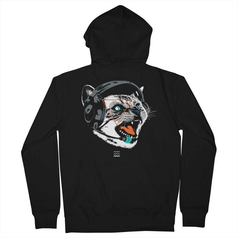 Stereocat Women's Zip-Up Hoody by Steven Toang