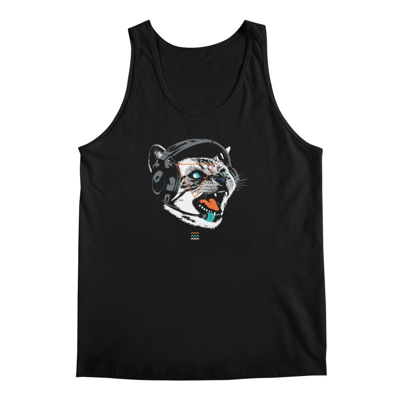 Stereocat Men's Regular Tank by Steven Toang