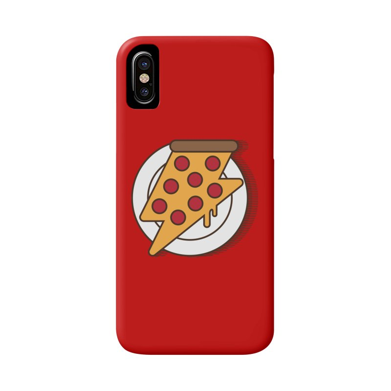 Fast Pizza Accessories Phone Case by Steven Toang