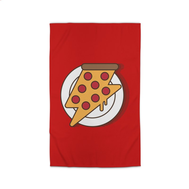 Fast Pizza Home Rug by Steven Toang