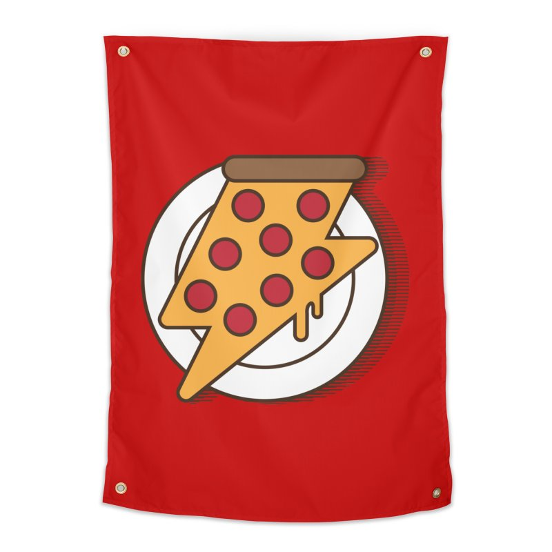 Fast Pizza Home Tapestry by Steven Toang