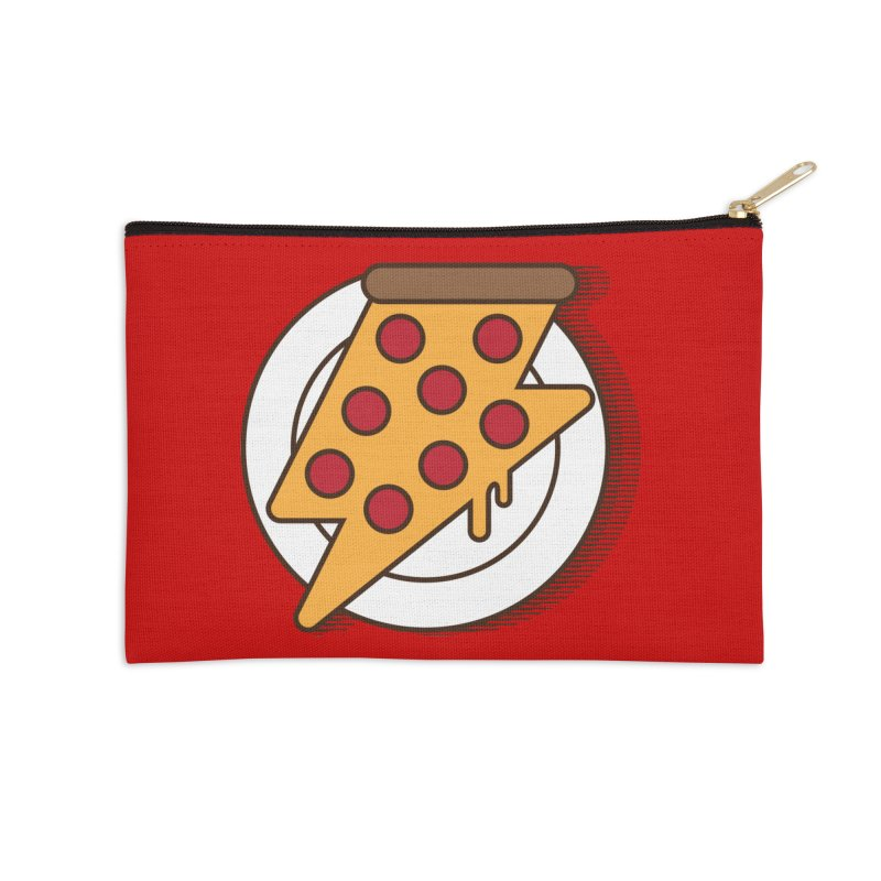 Fast Pizza Accessories Zip Pouch by Steven Toang