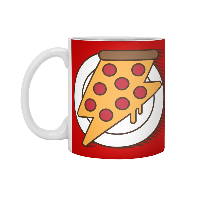 Fast Pizza Accessories Standard Mug by Steven Toang