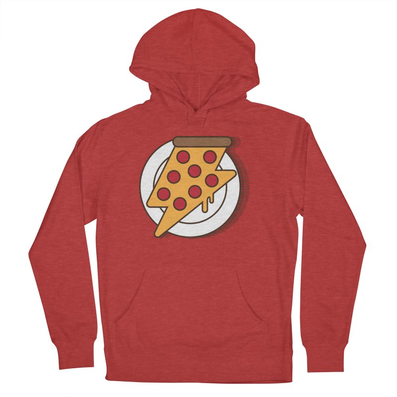 Fast Pizza Men's Pullover Hoody by Steven Toang
