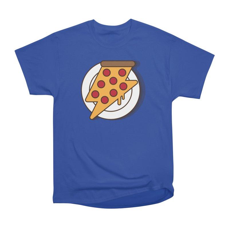 Fast Pizza Women's Heavyweight Unisex T-Shirt by Steven Toang