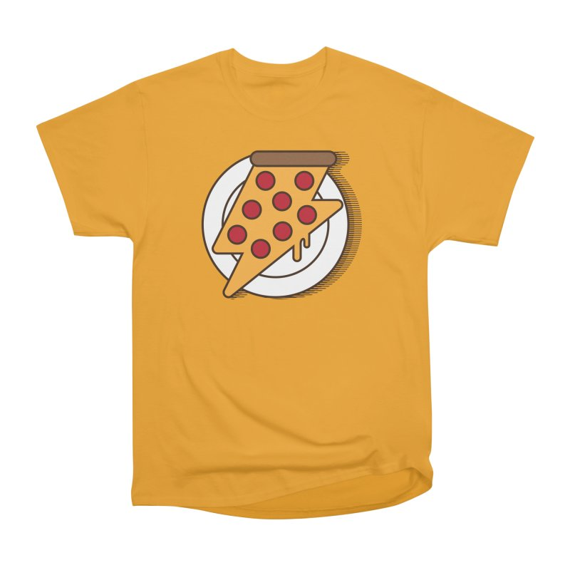 Fast Pizza Women's Classic Unisex T-Shirt by Steven Toang