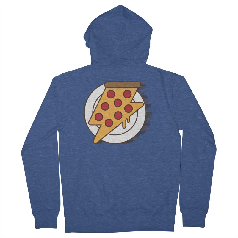 Fast Pizza Women's Zip-Up Hoody by Steven Toang