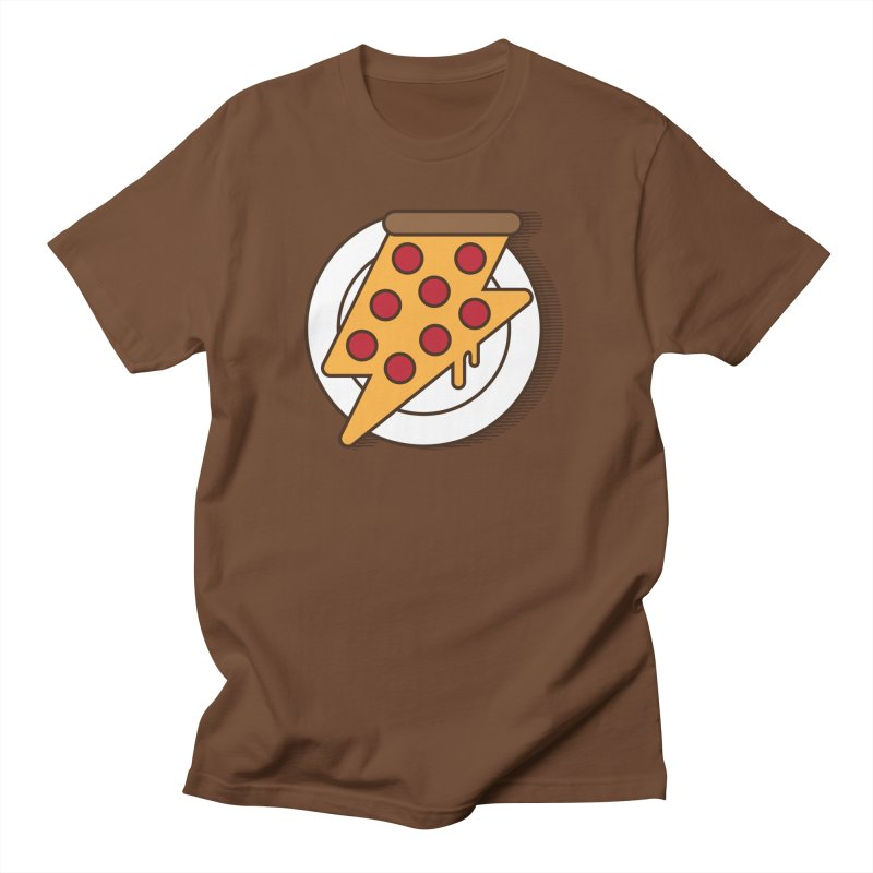 Fast Pizza Men's T-Shirt by Steven Toang