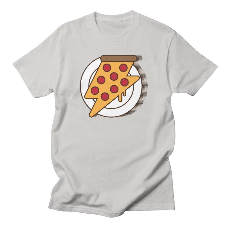 Fast Pizza Women's Unisex T-Shirt by Steven Toang