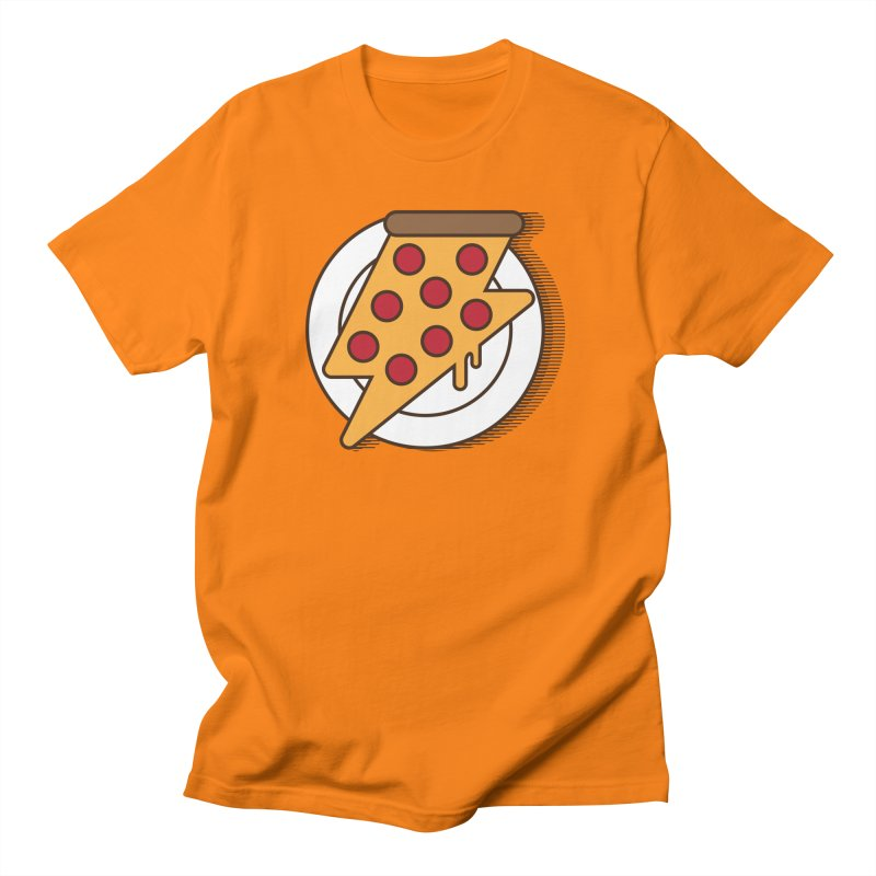 Fast Pizza Women's Regular Unisex T-Shirt by Steven Toang