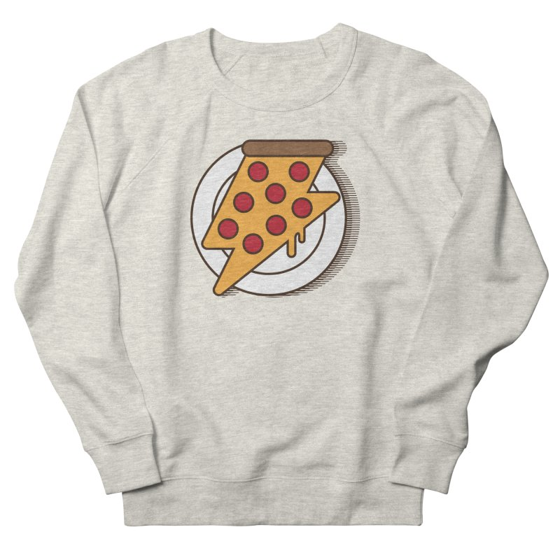 Fast Pizza Men's Sweatshirt by Steven Toang