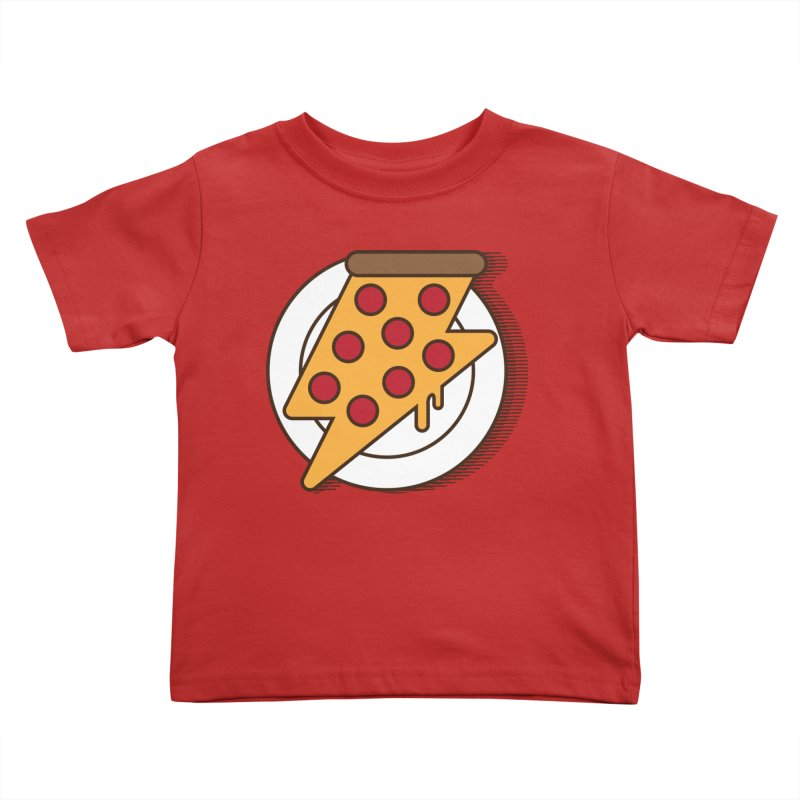 Fast Pizza Kids Toddler T-Shirt by Steven Toang