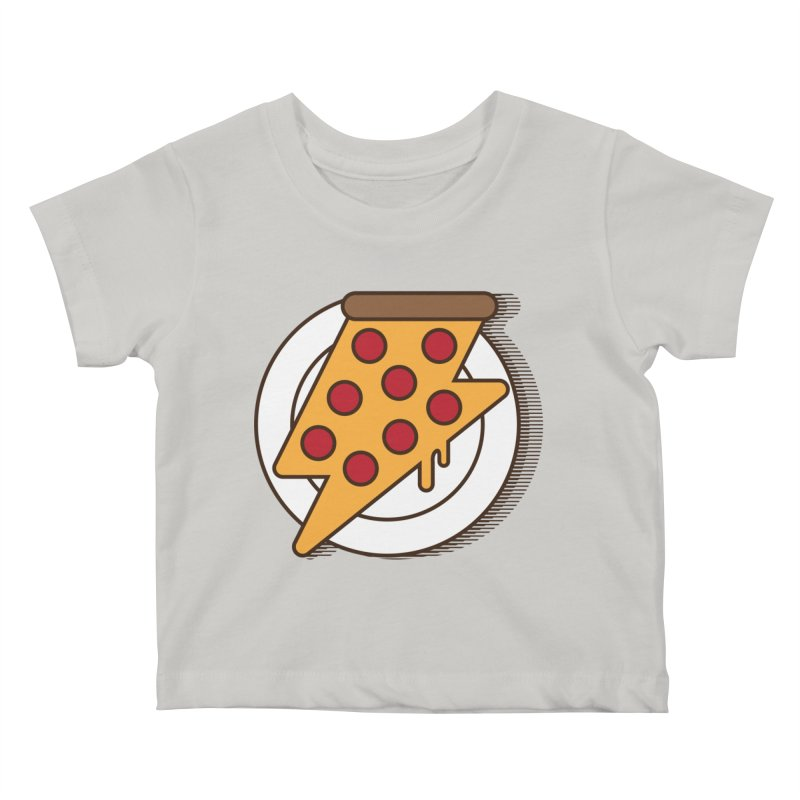 Fast Pizza Kids Baby T-Shirt by Steven Toang