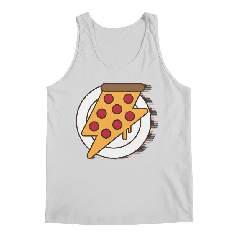 Fast Pizza Men's Regular Tank by Steven Toang