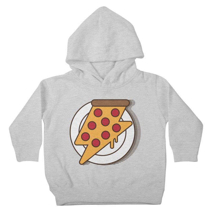 Fast Pizza Kids Toddler Pullover Hoody by Steven Toang