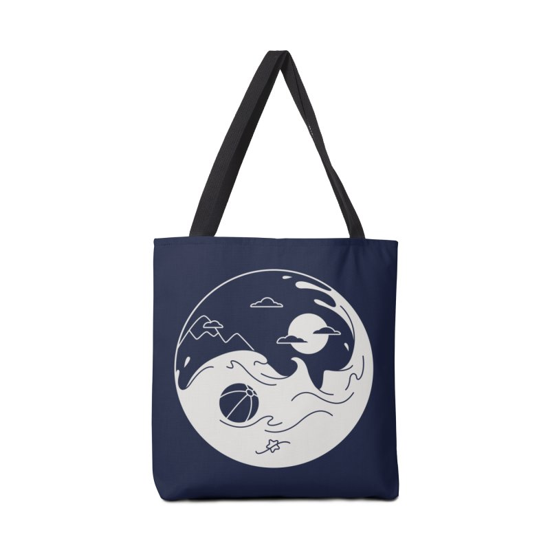 Summer night Accessories Tote Bag Bag by Steven Toang
