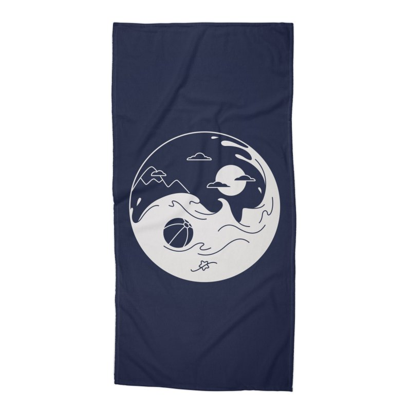 Summer night Accessories Beach Towel by Steven Toang