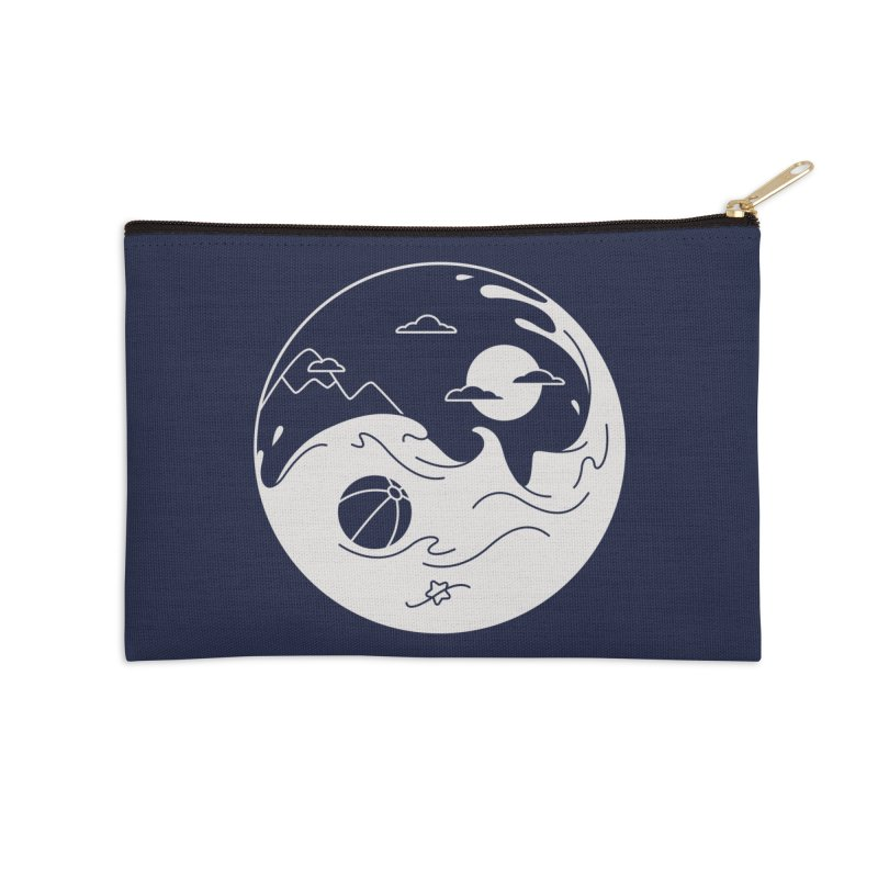 Summer night Accessories Zip Pouch by Steven Toang
