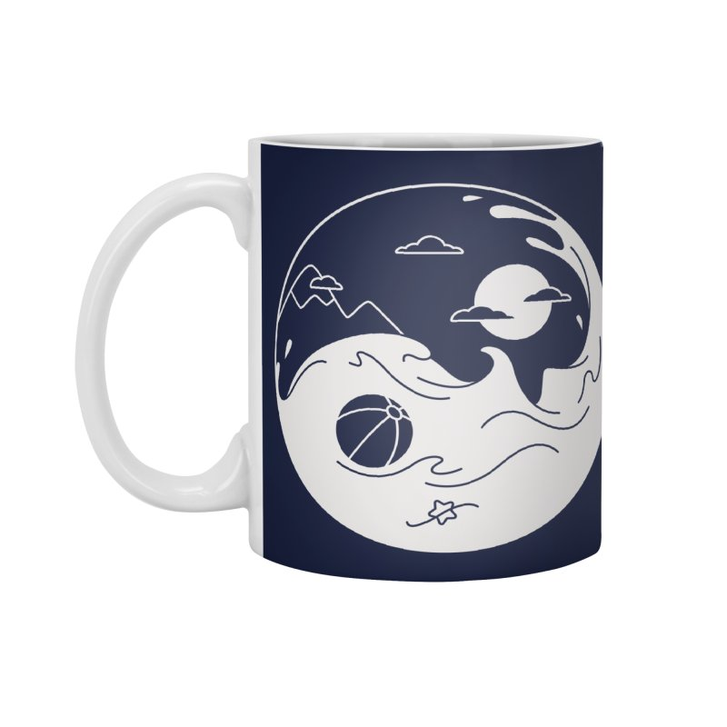 Summer night Accessories Mug by Steven Toang