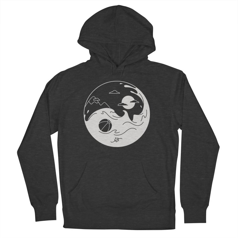 Summer night Men's French Terry Pullover Hoody by Steven Toang