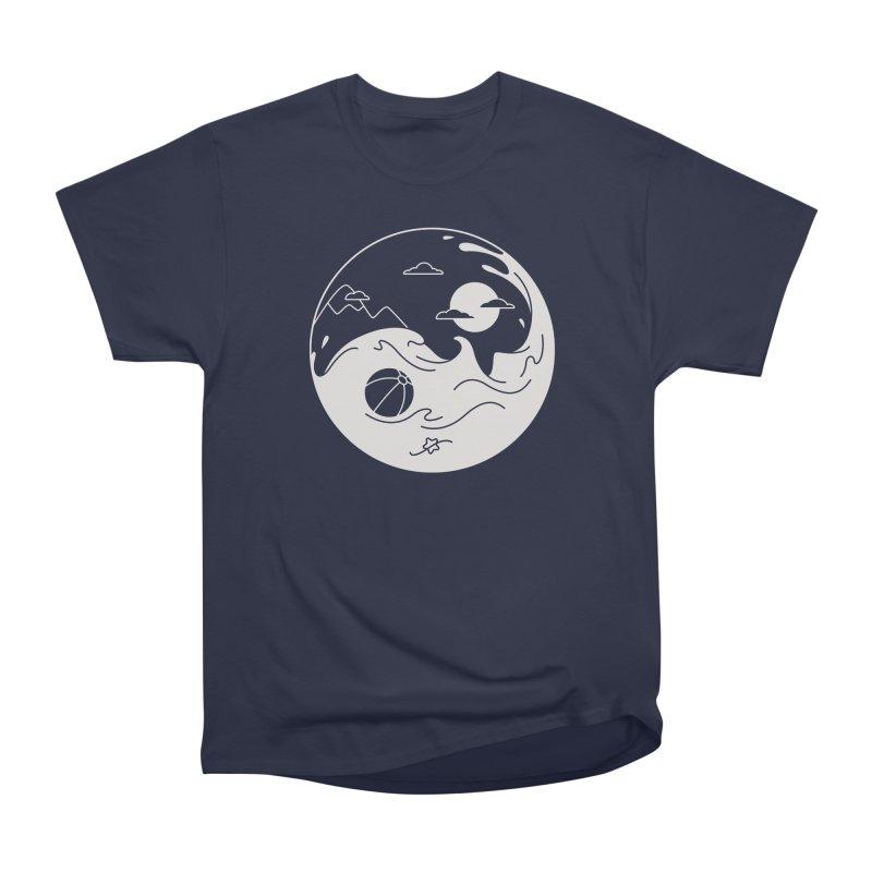 Summer night Men's Heavyweight T-Shirt by Steven Toang