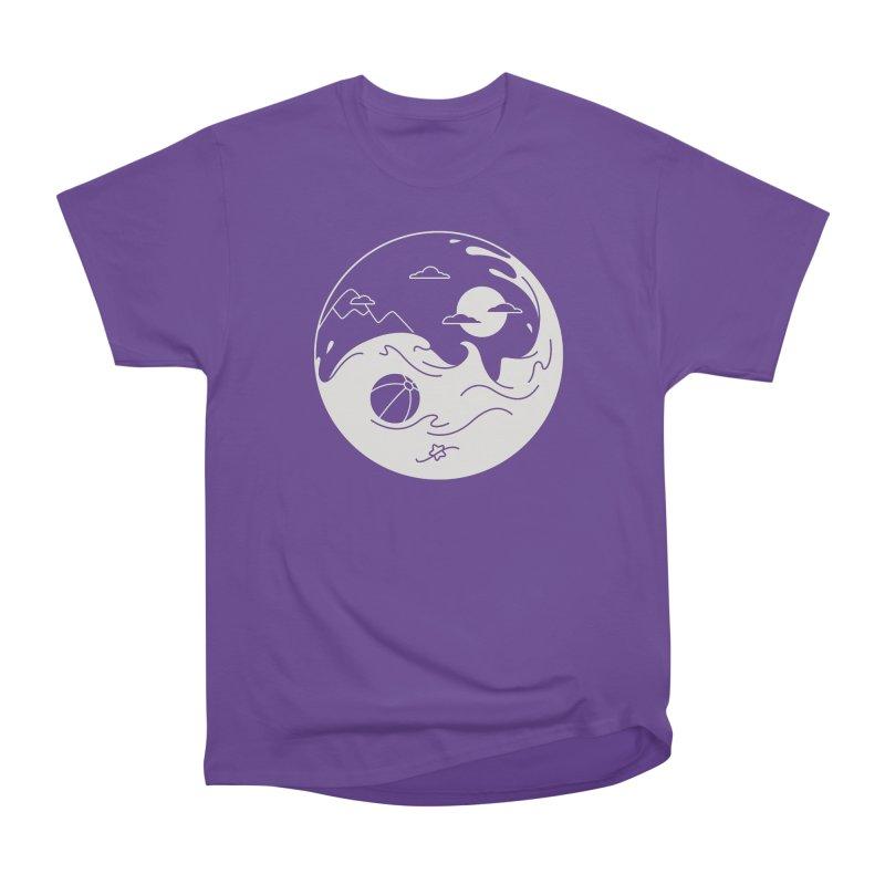 Summer night Men's Classic T-Shirt by Steven Toang