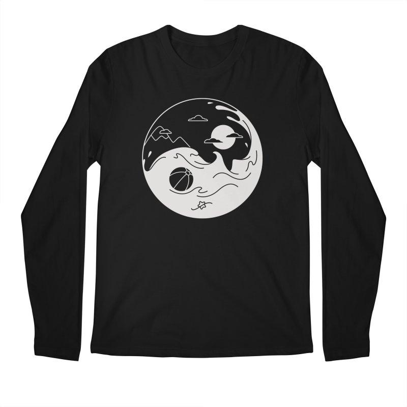 Summer night Men's Regular Longsleeve T-Shirt by Steven Toang