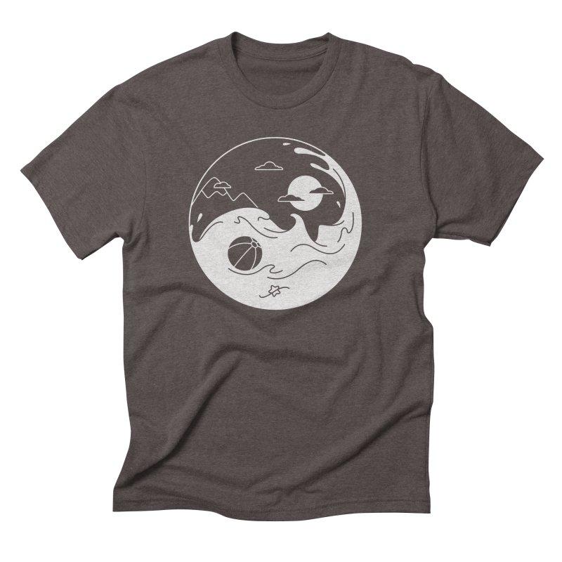 Summer night Men's Triblend T-Shirt by Steven Toang