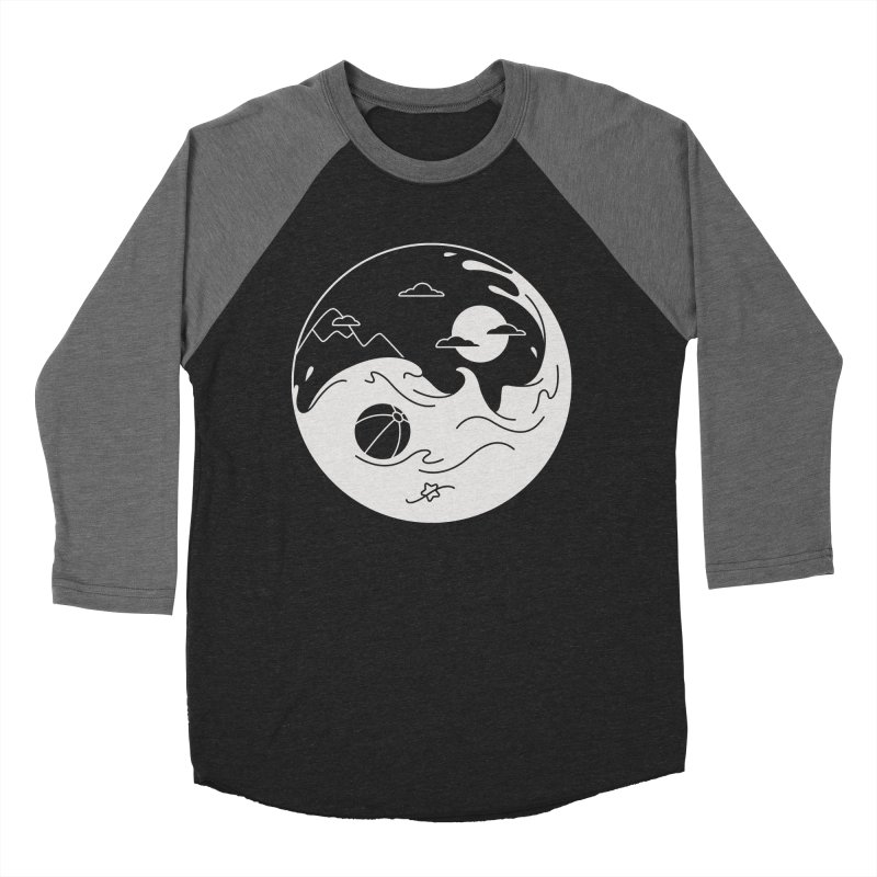Summer night Women's Baseball Triblend Longsleeve T-Shirt by Steven Toang