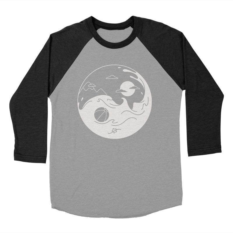 Summer night Women's Baseball Triblend Longsleeve T-Shirt by Steven Toang
