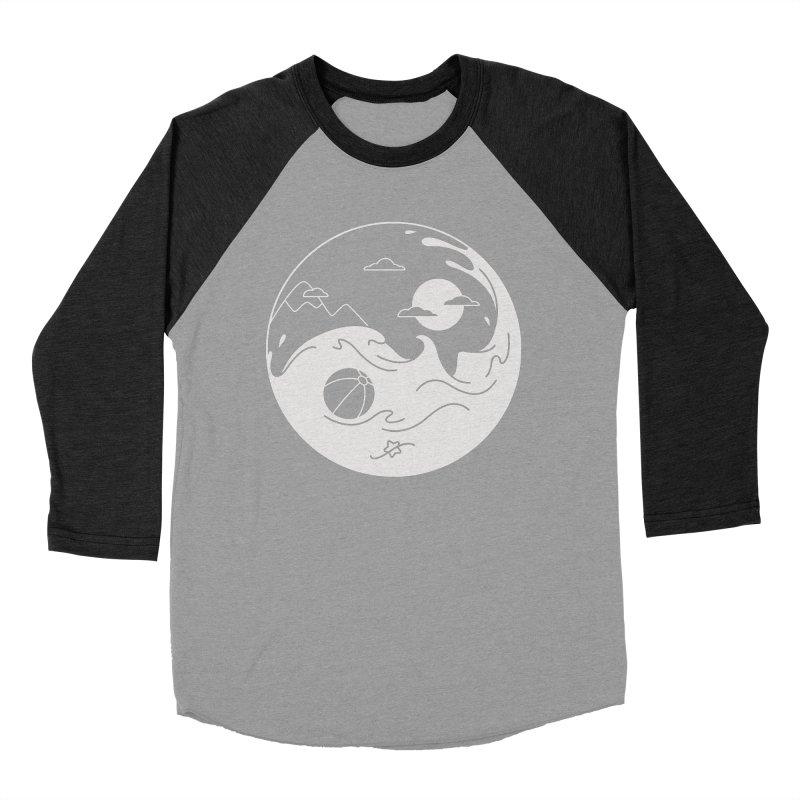 Summer night Men's Baseball Triblend Longsleeve T-Shirt by Steven Toang