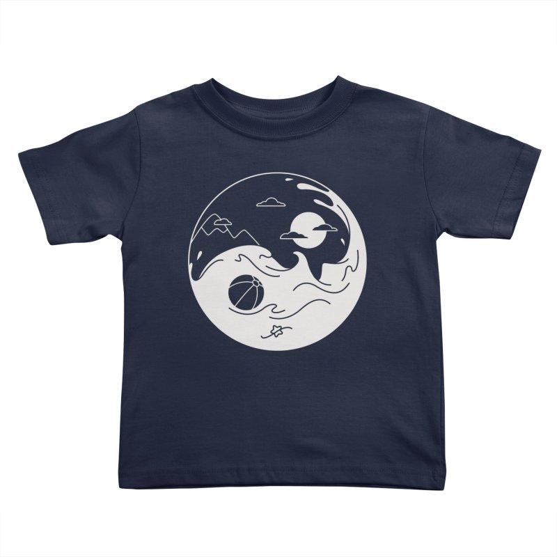 Summer night Kids Toddler T-Shirt by Steven Toang
