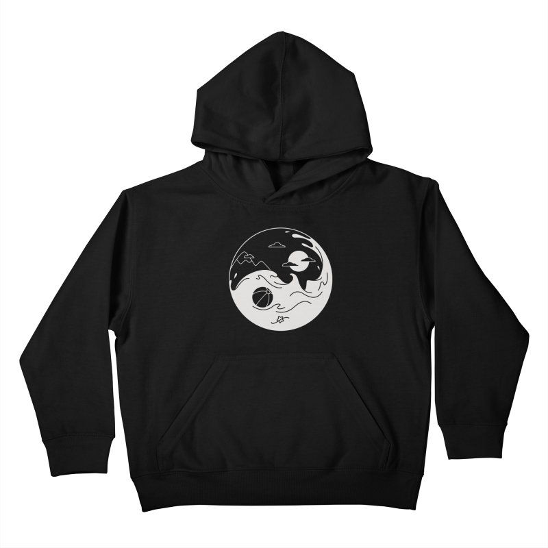 Summer night Kids Pullover Hoody by Steven Toang