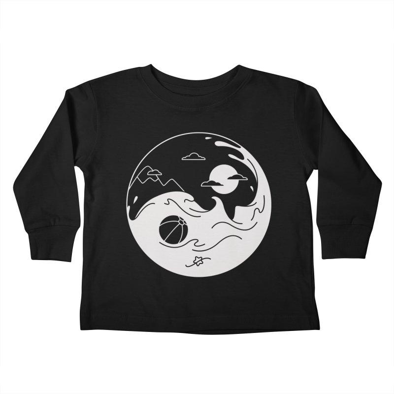 Summer night Kids Toddler Longsleeve T-Shirt by Steven Toang