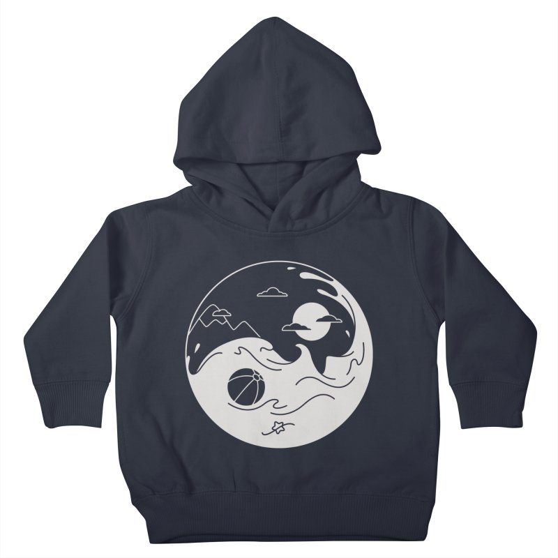 Summer night Kids Toddler Pullover Hoody by Steven Toang