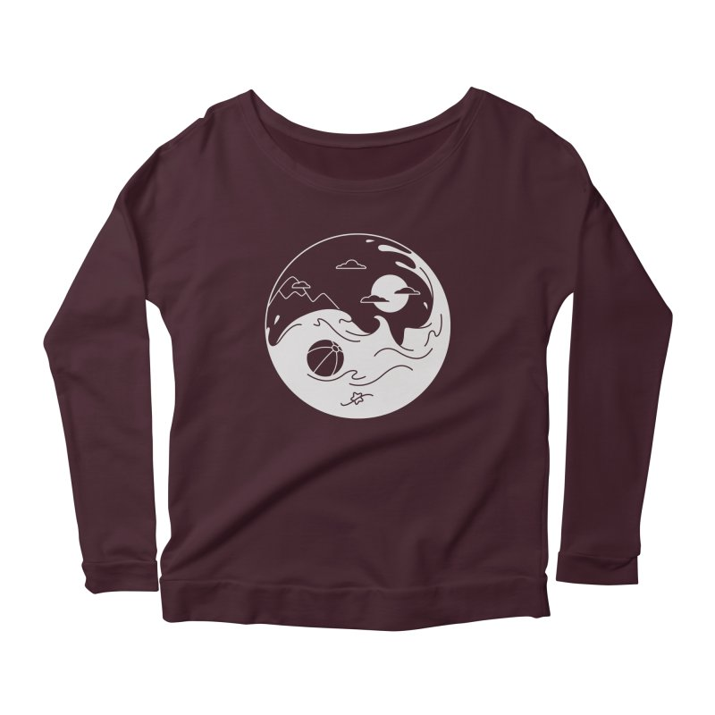 Summer night Women's Scoop Neck Longsleeve T-Shirt by Steven Toang