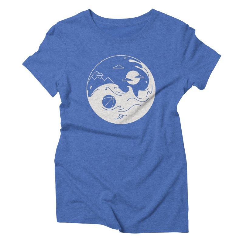Summer night Women's Triblend T-Shirt by Steven Toang