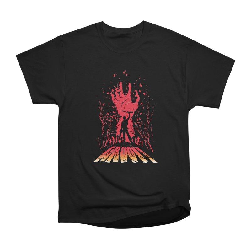 Groovy Men's Heavyweight T-Shirt by Steven Toang