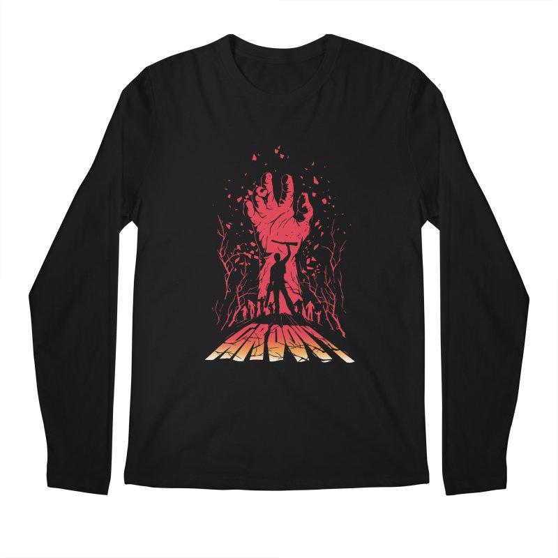 Groovy Men's Longsleeve T-Shirt by Steven Toang